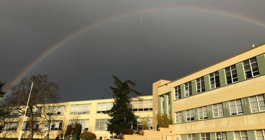 Rainbow over SJ